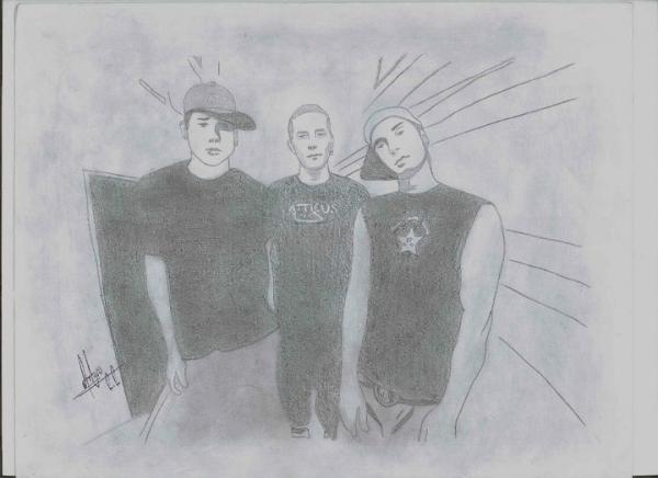 Blink-182 por RouseRojas